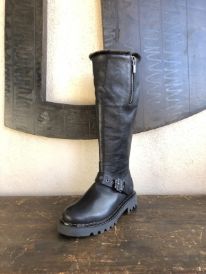 Tall Shearling Boot