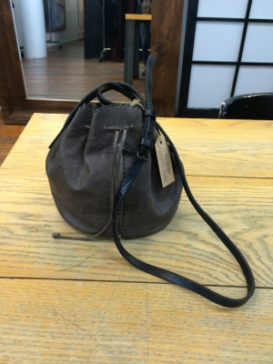 SMALL DRAWSTRING CROSSBODY