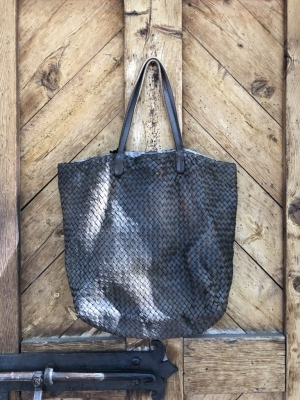 Woven Tote Nut